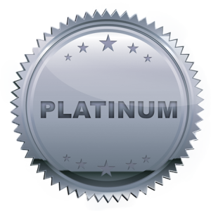 Icon of a Platinum Medal.