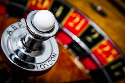 Picture of a Roulette Wheel.
