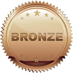Image of a bronze badge