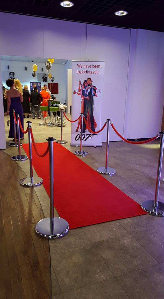 Red Carpet and Poles