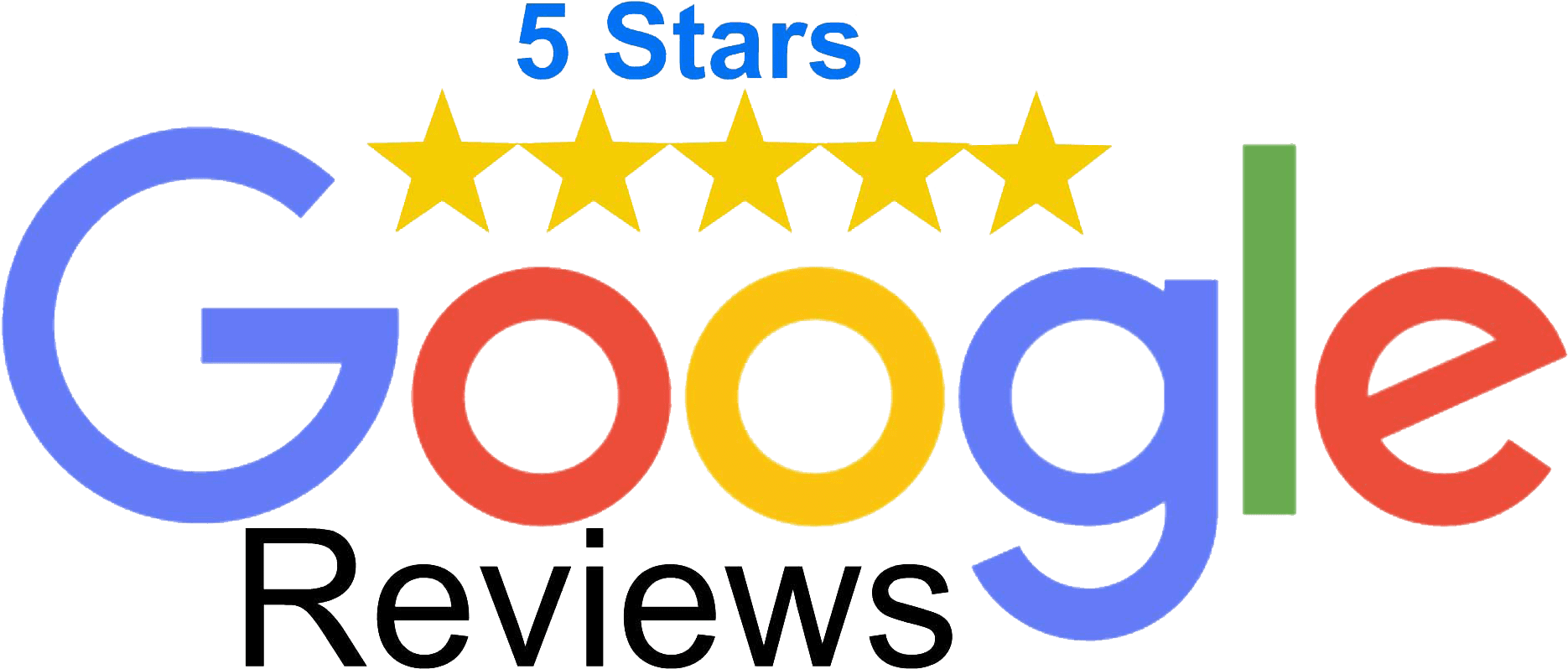 toppng.com 5 star google reviews google review 5 stars 1870x798 1