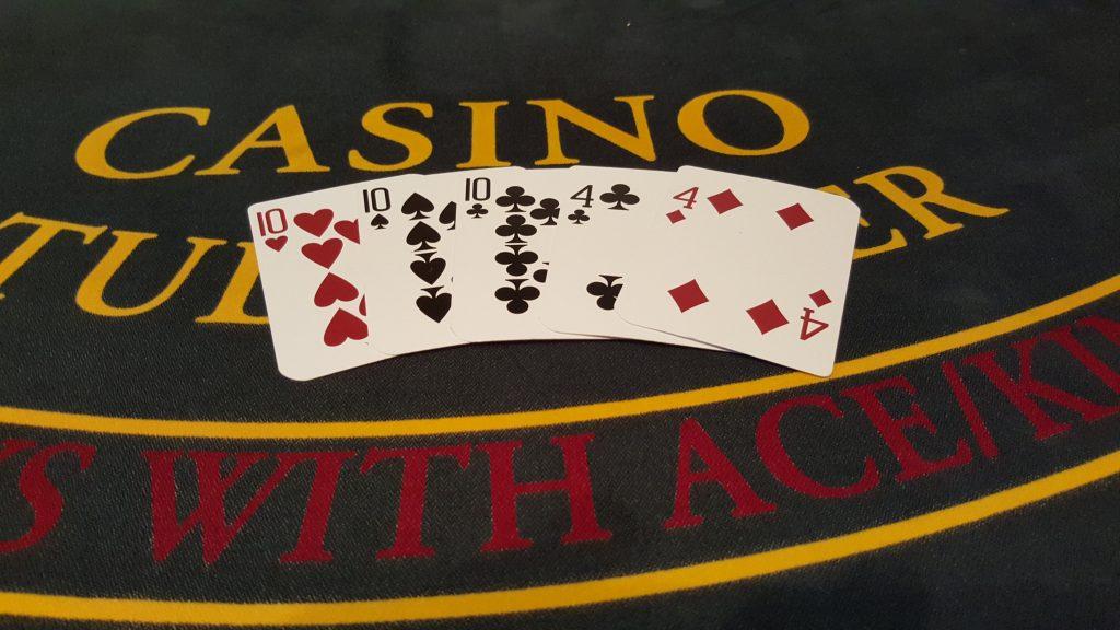 Stud Poker Hand