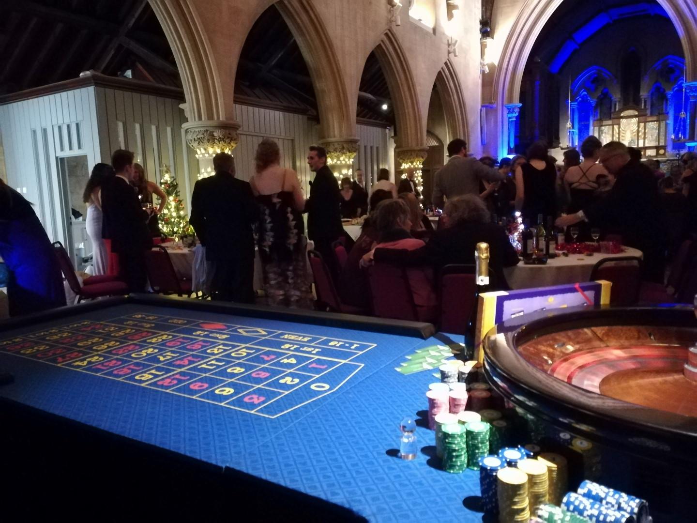Fun Casino Hire In a Church