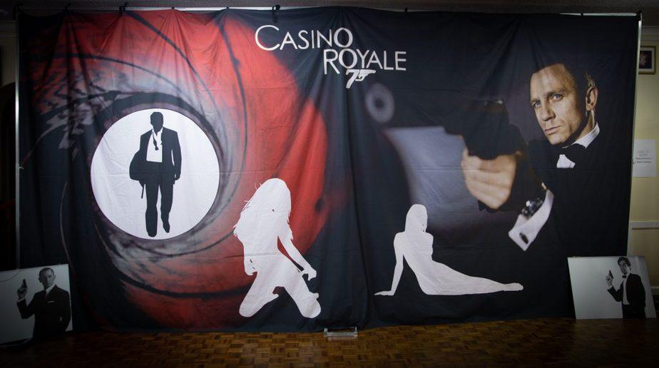 James Bond backdrop