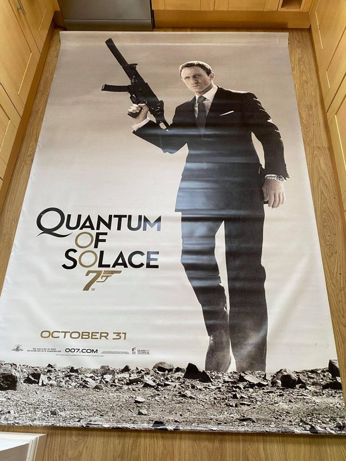 James Bond Poster Cinema 2