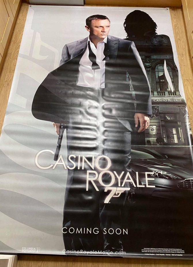 James Bond Poster Cinema 3