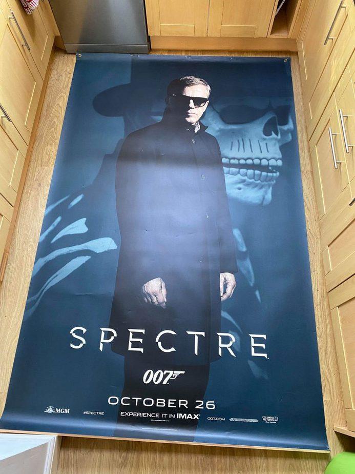 James Bond Poster Cinema